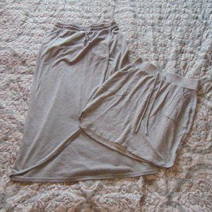 Sonoma Gray Skirt Bundle Petite XS